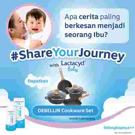 Lactacyd baby share your journey