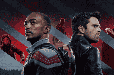 serial marvel, the falcon and winter soldier, captain america