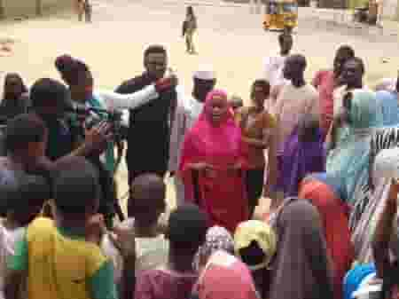 girls in idp camps lured by traffickers: Hadiza Teaching In IDP Camp