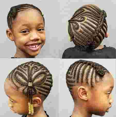 cornrow styles for toddlers