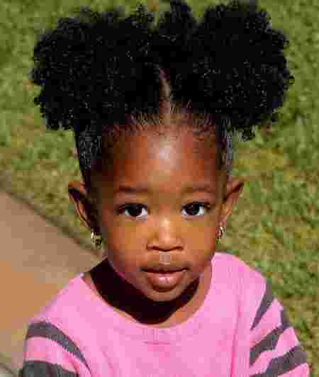 Afro baby hairstyles