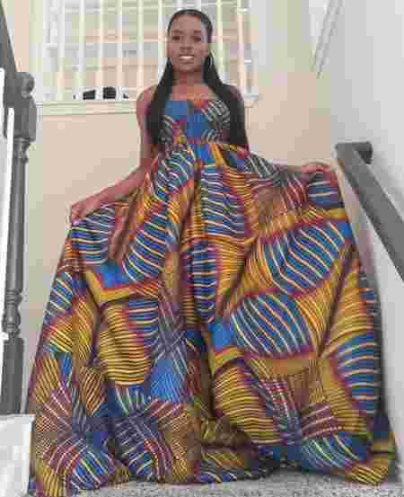 pictures of ghanaian maternity dresses