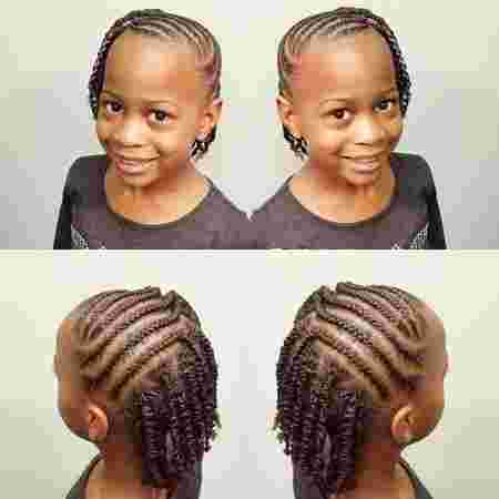Check Out These Easy And Elegant Cornrow Styles For Toddlers