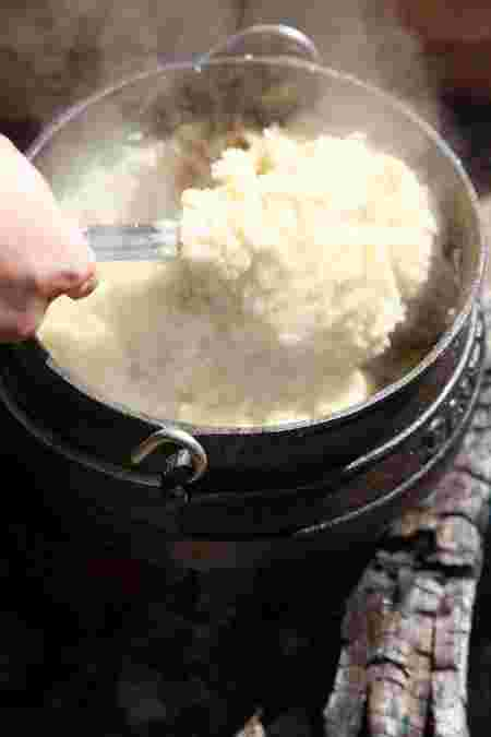 south african pap recipe