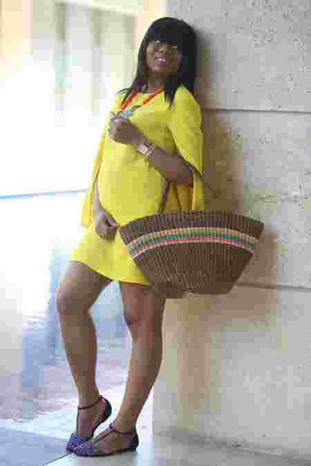 See These Stylish Ghanaian Maternity Dresses (Pictures)