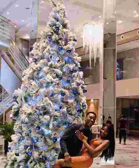 african celebs at christmas