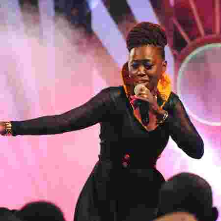 Singer Akothee reportedly collapsed while performing at the Luo Festival