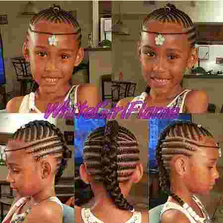 back to school hairstyles for African girls