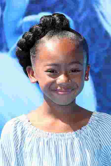 pony twist Back to school hairstyles for African girls