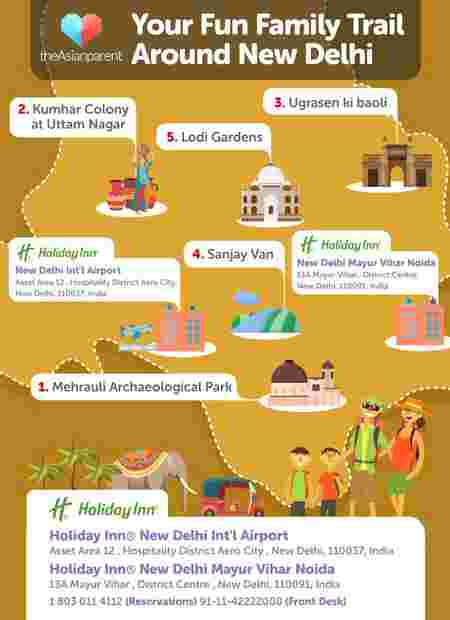 Learn, Play and Bond with your Kids in New Delhi!