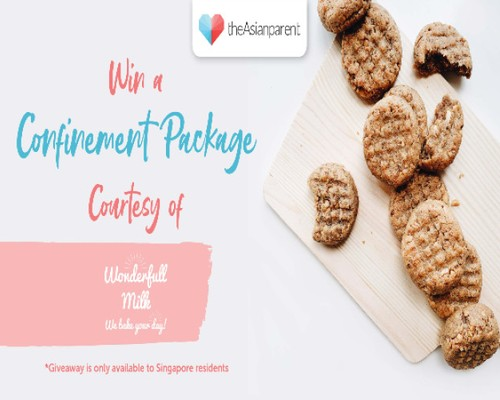 Giveaway with Wonderfull Milk
