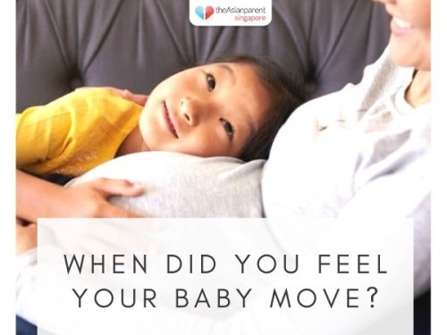 When did you feel your baby move?