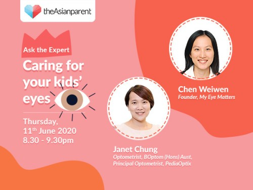 Ask the Expert Series: Caring for your kids eyes