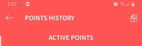TAP Points Credited!