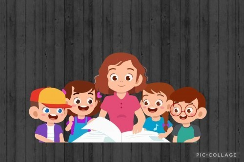 Phonic lesson in classroom