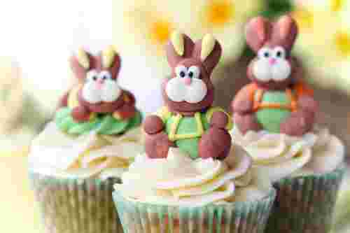 Easter cupcakes in Malaysia