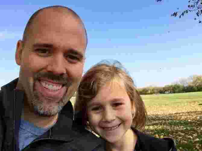 Dad writes moving letter to daughter about growing up too fast