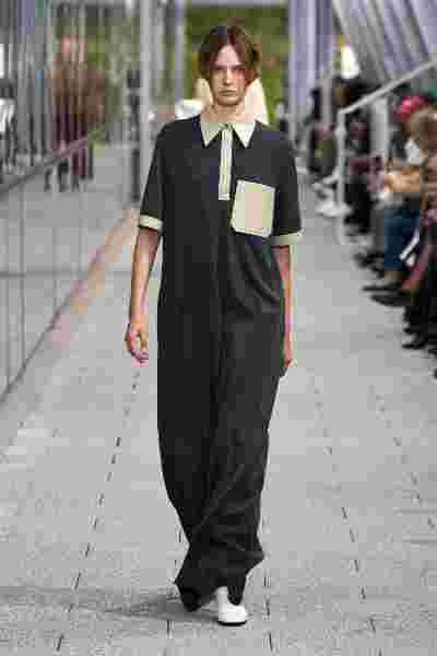 Look 04 by Alessandro Lucioni at the Lacoste Spring Summer 2020 Fashion Show