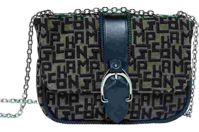 Longchamp_embroidered Taupe