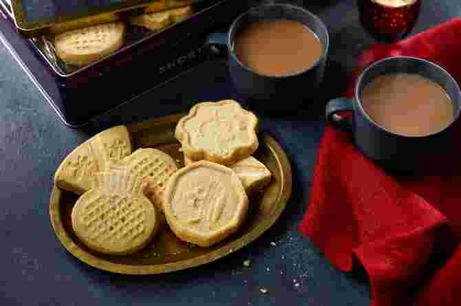 Limited Edition Baked In Edinburgh All Butter Scottish Shortbread Assortment Tin