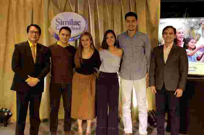 Similac features Bianca Gonzales, JC Intal, Patrick Garcia, and Nikka Martinez on team parenting