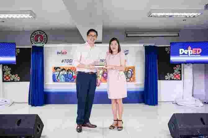 Unilever partners with DepEd for the #TogetherWeAreUnstoppable campaign