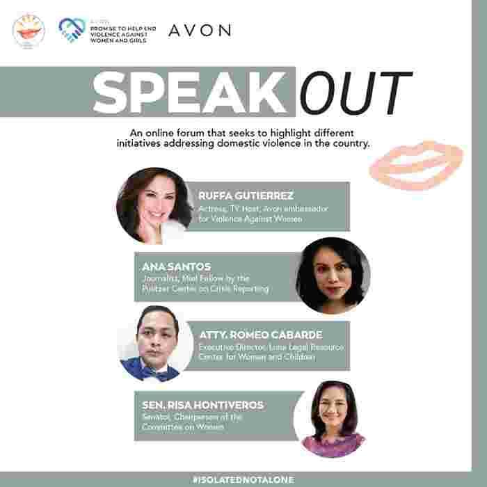 AVON Philippines partners with She Talks Asia to address domestic violence cases driven by the lockdown