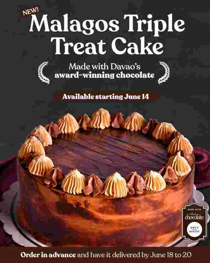Max's Corner Bakery Introduces New Cake Made with Award-Winning Malagos Chocolate in Time for Father's Day