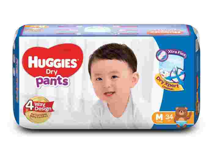 Make an Upgrade for Your Active Baby With the New and Improved Huggies Dry Pants