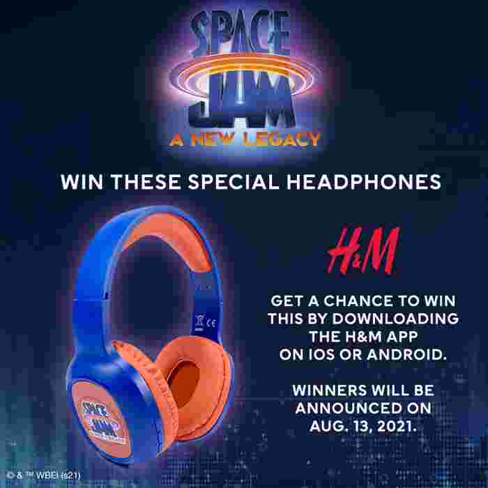 Space Jam: A New Legacy –  H&M brings back THE nostalgic squad your kids can now be part of starting at just Php 299!