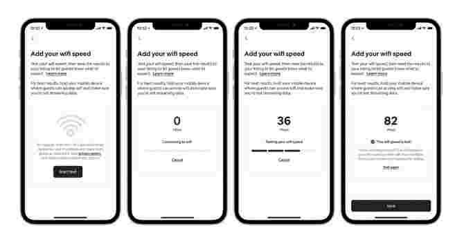 Airbnb unveils new tool enabling guests to check WiFi speed in listings before booking