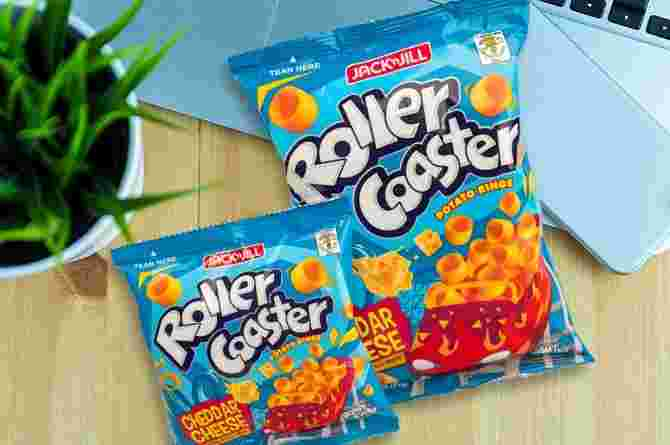Calling all batang 90s: Jack 'n Jill Roller Coaster just released a new flavor!