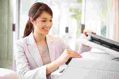 Is using a photocopier harmful to an expectant mother?