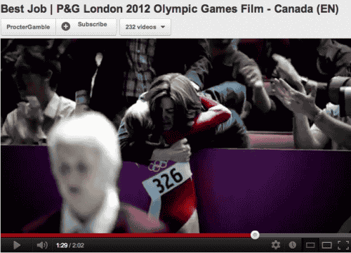 Must watch tribute to Olympian mums ad