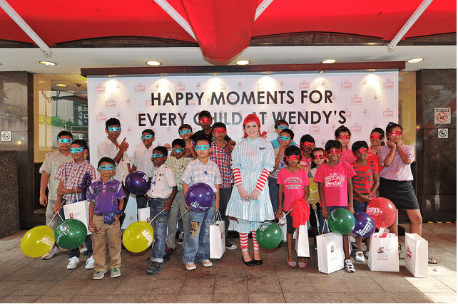 Happy Moments for Every Child at Wendy's