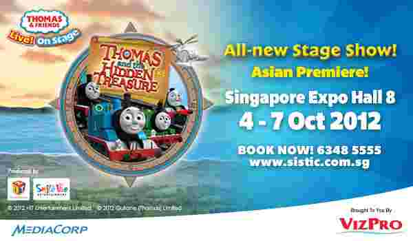 Win tickets to the Thomas Stage Show Live in Singapore!
