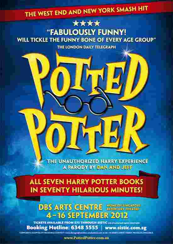 Win Potted Potter family pack tickets worth $340!
