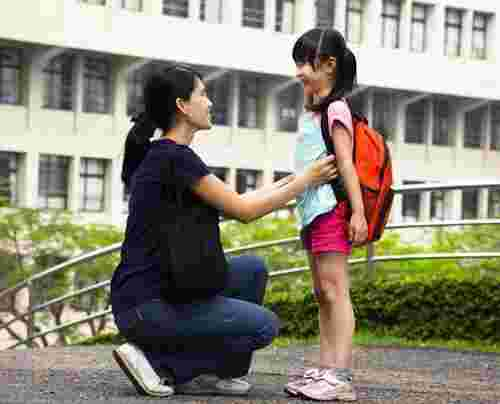 Build on your existing family rules as your child grows up, especially when she starts going to school.