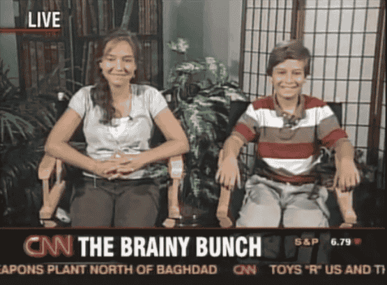 The brainy bunch - 6 siblings begin college by age 12!