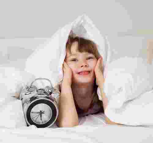 how to get kids up in the morning