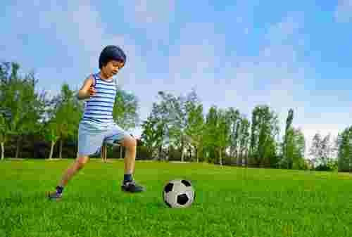 get your child into football