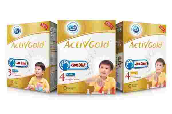 dha for kids, dutch lady activgold