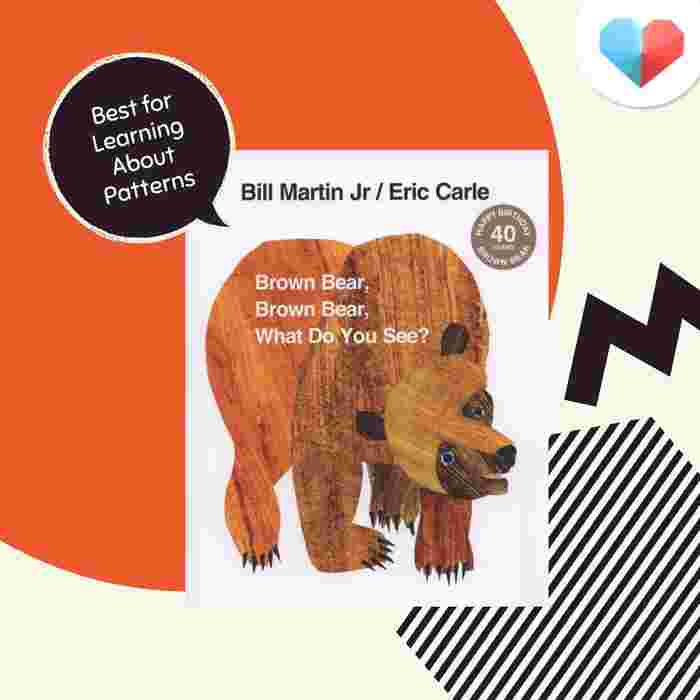 Brown Bear, Brown Bear What Do You See? - Best For Learning about Patterns
