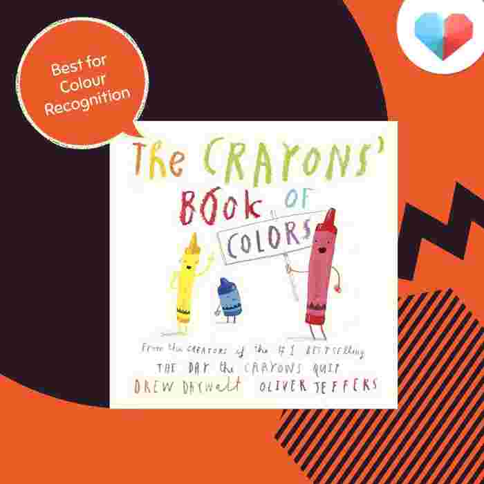 The Crayons' Book of Colors - Best For Colour Recognition