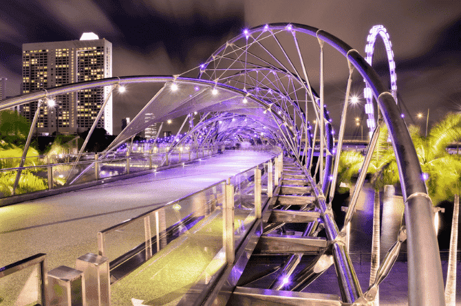 most romantic places in singapore