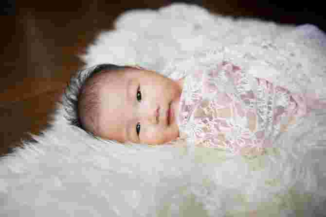 One month old Bethany. Image Credit: Mdm Tan Kee