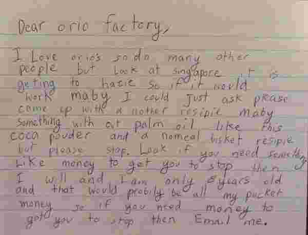 8 Year Old Appeals To Stop The Haze In Singapore