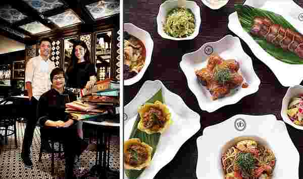Violet Oon culinary chef Singapore