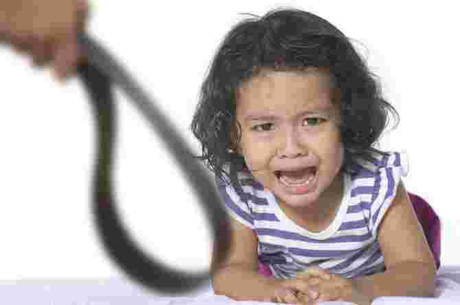 smacking your child