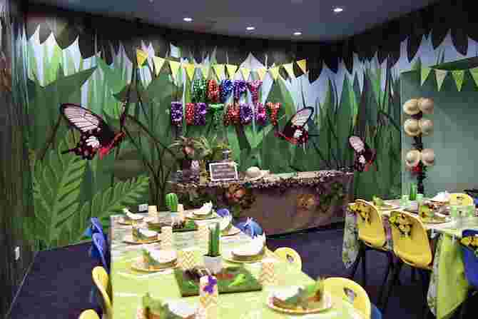 kids birthday party venues singapore